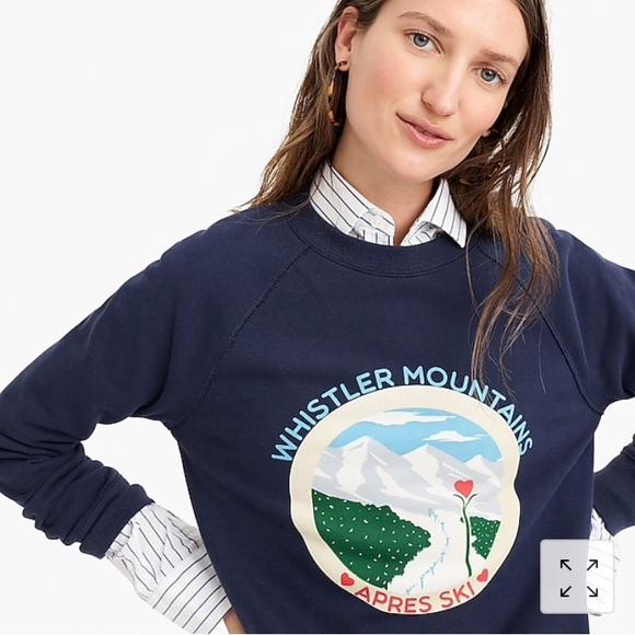 586845c4b6 J Crew Whistler Sweatshirt